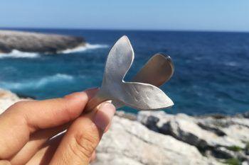 pulsera cola de ballena