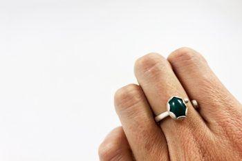 anillo agata