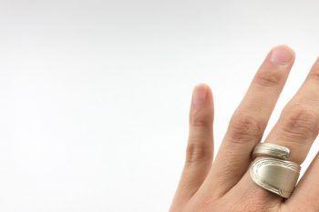 anillo espiral mango