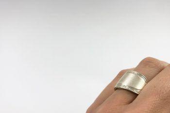anillo espiral detalle