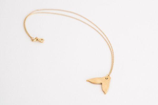 Collar little mermaid baño en oro